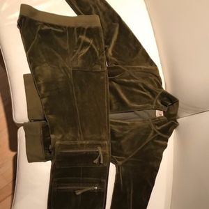 Juicy Couture Velour Sweatsuit